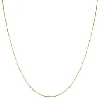 Fremada 14-kt Yellow Gold 30-inch Box Necklace