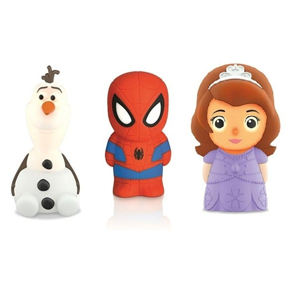 Philips Disney Spideaman, Sofia, Olaf SoftPal Portable Night Light 31533119