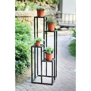 47.25 in. 4 Tier Cast Iron Plant Stand