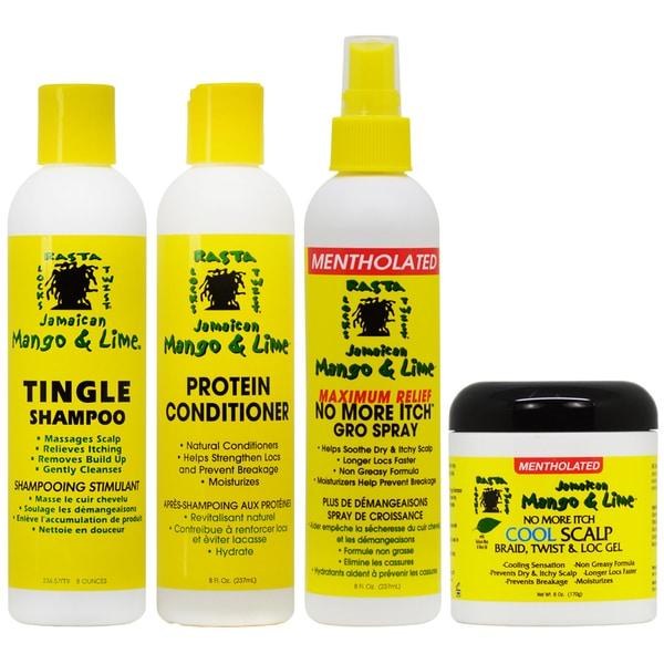 Jamaican Mango & Lime Cooling 4-piece Scalp Care Set 31533456