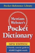 Merriam-webster's Pocket Dictionary (Paperback)