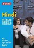 Berlitz Hindi Phrase Book And Dictionary (Paperback)