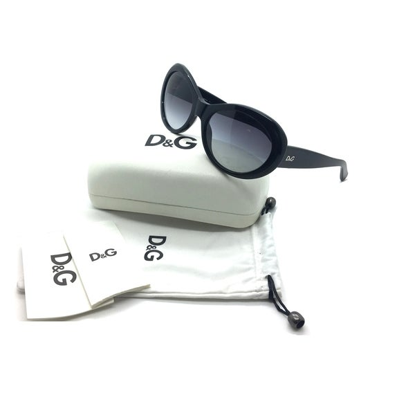 Dolce & Gabbana Round Black Sunglasses D&G 3058 501 8G 57 18 135 3N 31562206