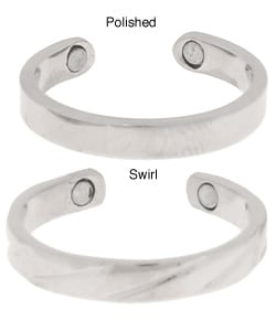Magnetic Silver Toe Ring