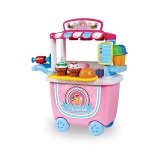 14-Piece Ice Cream Cart Playset 31578291