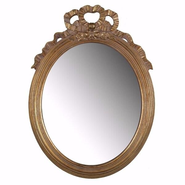 Striking Classic Round Mirror - Gold 31590380