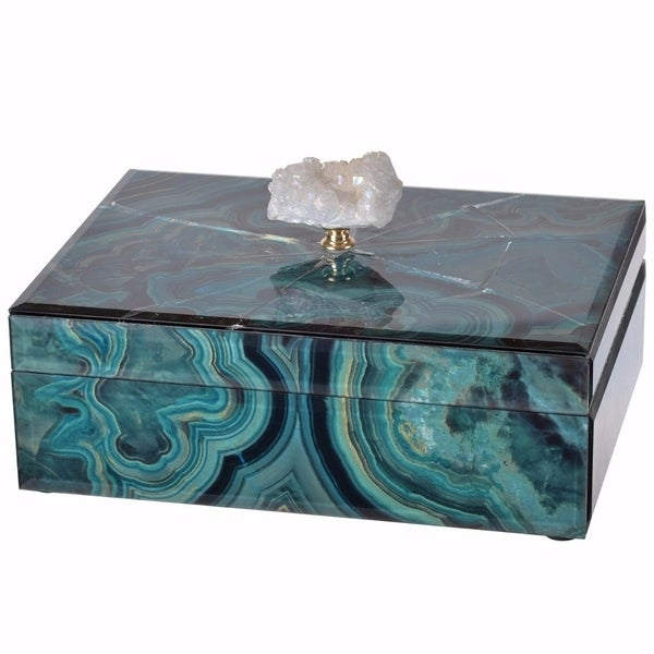 High-class Spacious Marbled Box, Multicolor 31590617