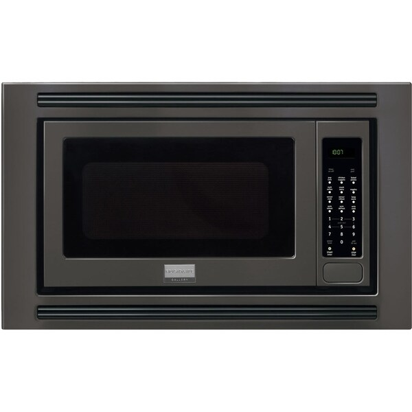 Frigidaire Black Gallery 2 cubic foot Built-In Microwave (As Is Item) 31595126