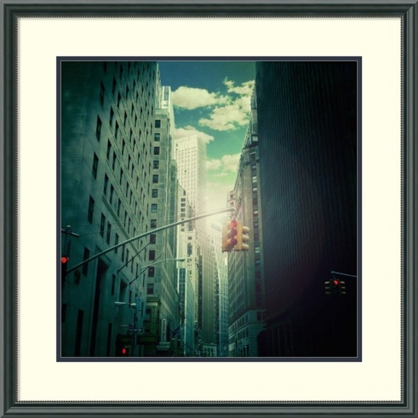 Framed Art Print 'Downtown' by Ambra  28 x 28-inch 31606934