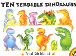 Ten Terrible Dinosaurs (Paperback)