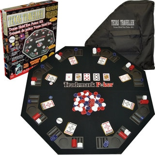 Texas Traveller - Table Top & 300 Chip Travel Set