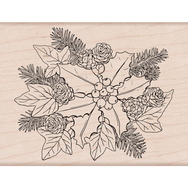 """Hero Arts Mounted Rubber Stamp 4.25""""X3.25"""" 31660014"""