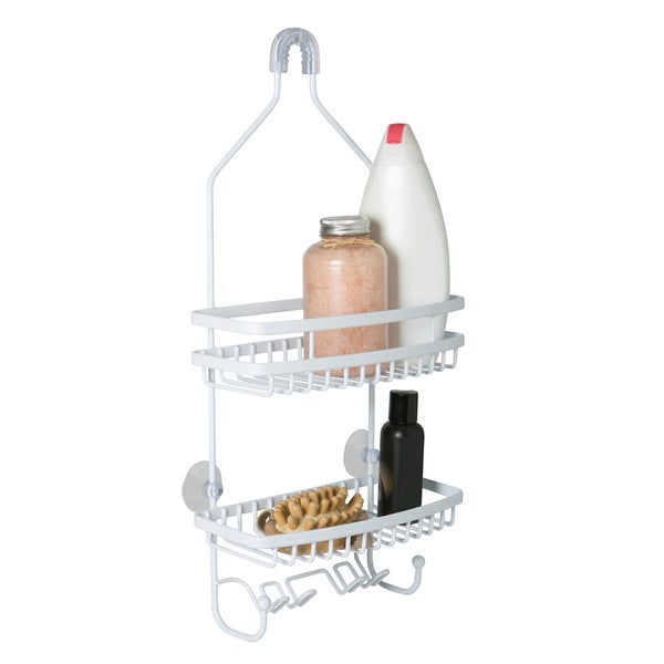 PE Coated Flat Wire Shower Caddy 31676969