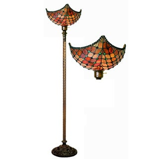 Tiffany-style Beaded Torchiere