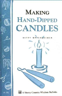 Making Hand-Dipped Candles (Paperback)