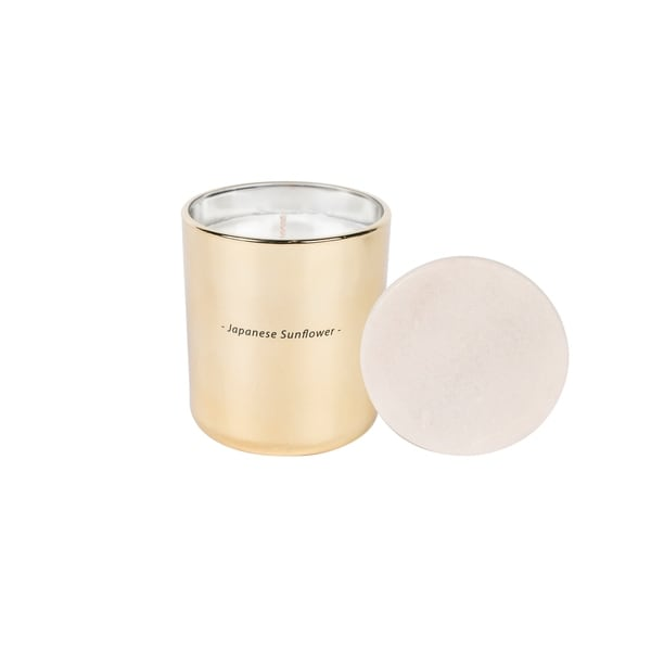 Japanese Sunflower Glass Jar Candle 31750203