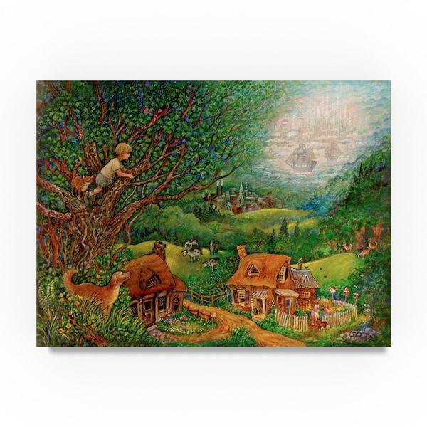 Bill Bell 'Far Away' Canvas Art 31793789