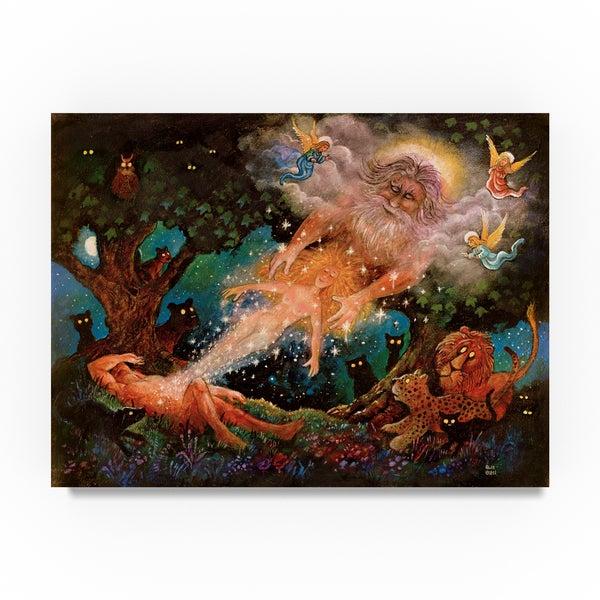 Bill Bell 'The Taken Rib' Canvas Art 31793841