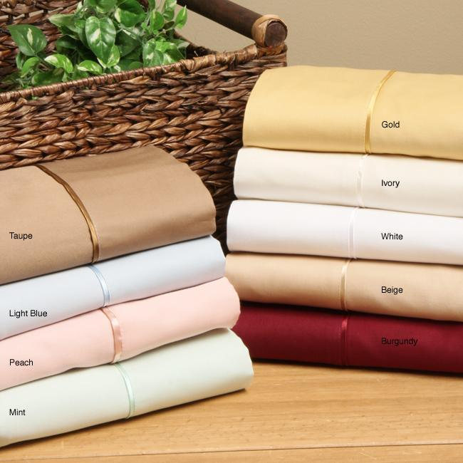 Egyptian Cotton Queen-size Waterbed Sheet Set