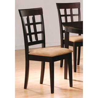 Lattice-style Chairs (Set of  2)