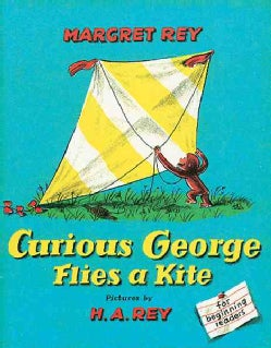 Curious George Flies a Kite (Hardcover)