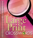 Large Print Crosswords 5 (Paperback)