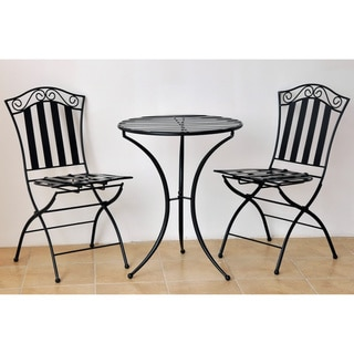International Caravan Iron 3-piece Bistro Set