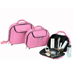 Luca Vergani Molded 3-piece Cosmetic Case Set