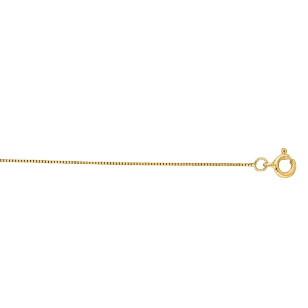 Karat Rushs 18-inch 14kt Gold Classic Box Chain Necklace 32049622