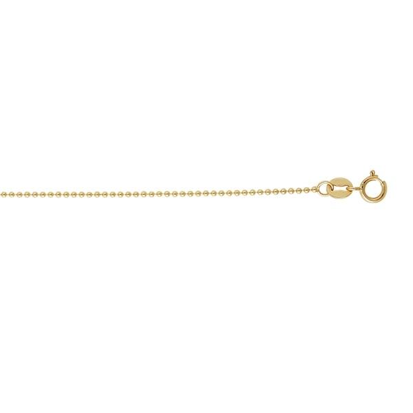 Karat Rushs 14kt Gold Round Bead Chain Necklace 32049624