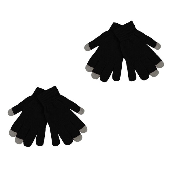 2 Pack Men's Texting Gloves Winter Knit Touch Screen Glove - iPhone Samsung 32051691