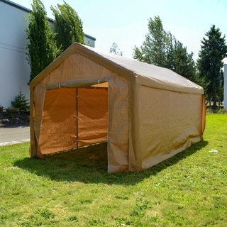 ALEKO 10 x 20 Heavy Duty Outdoor Gazebo Canopy Tent with Sidewalls