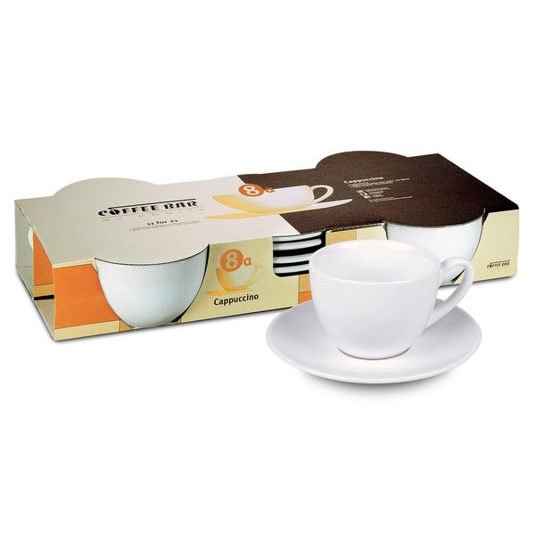 Konitz Two Giftboxed Sets of 4 Coffee Bar Coffee Cups and Saucers 32054872