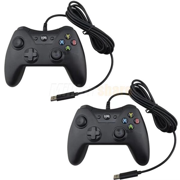 Lot2 Durable USB Wired Remote Game Controller For Xbox One XboxOne 32057302