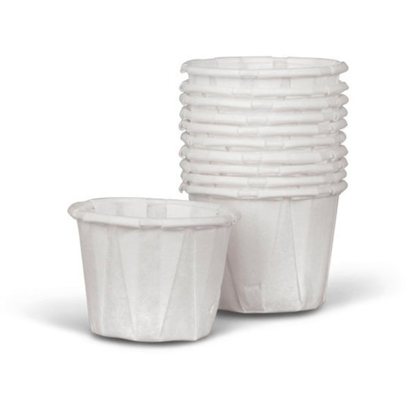 Medline Paper 0.75-oz Souffle Cup (Case of 5000) (As Is Item) 32062036
