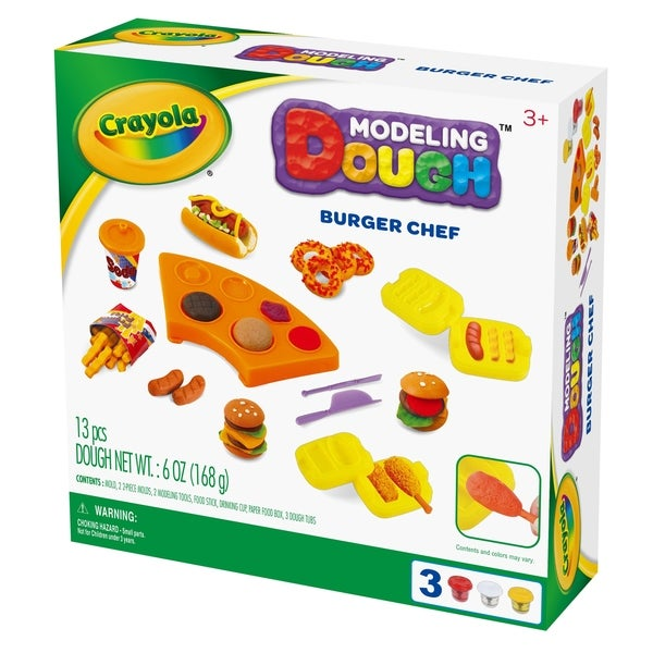 Crayola Burger Chef Modeling Dough Kit 32062946