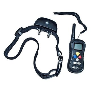 ALEKO Water Resistant Remote Pet Training Dog Collar 16 levels 32067845