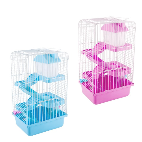 Hamster Cage Habitat, Critter/Gerbil/ Small Animal Starter Kit with Attachments/Accessories 32068730