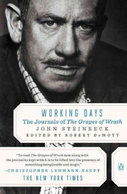 Working Days: The Journals of the Grapes of Wrath 1938-1941 (Paperback)