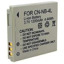 Rechargeable Battery compatible with Canon NB-4L