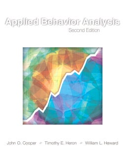 Applied Behavior Analysis (Hardcover)