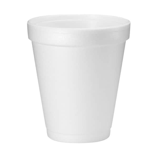Medline Styrofoam Cup, 8oz. (bulk pack of 1000)