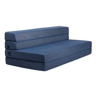 Milliard 4.5 Inch Tri-Fold Foam Folding Mattress and Sofa Bed - Queen