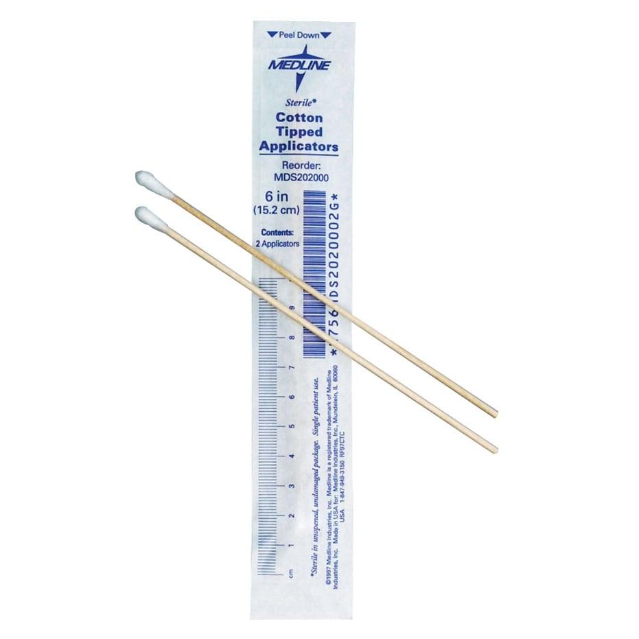 Medline Sterile 6-in Cotton Tip Applicator Swab (Case of 2000) at Sears.com