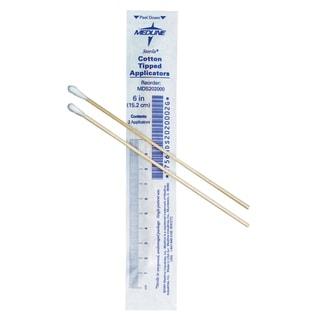 Medline Sterile 6-in Cotton Tip Applicator Swab (Case of 2000)