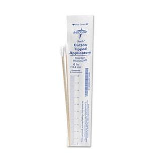 Medline Sterile 6-inch Cotton Tip Applicator Swab (Case of 100)