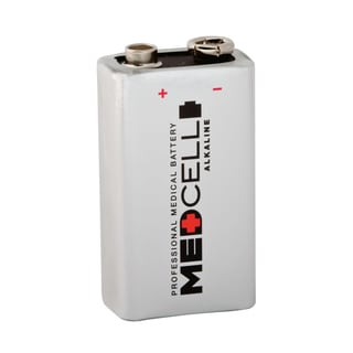 Medline MedCell Alkaline Batteries, 9 Volt (Case of 72)