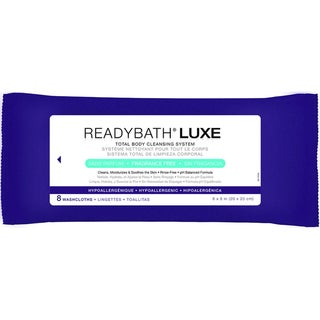 Medline ReadyBath LUXE Total Body Cleansing Heavyweight Washcloths, Fragrance-Free (Case of 24)