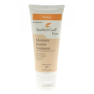 Medline Soothe & Cool Barrier Ointment 2-ounce (Pack of 12)