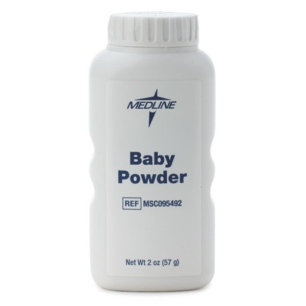Medline Baby Powder Talc 2 oz. (Case of 96)